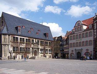Collégiale, château et vieille ville de Quedlinburg