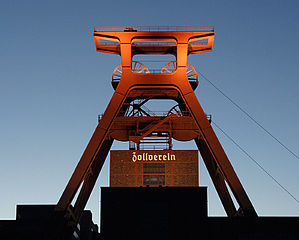 Complexe industriel de la mine de charbon de Zollverein, à Essen