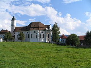 Eglise de pèlerinage de Wies