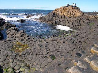 Chaussée des Géants et sa côte