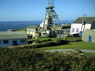 Paysage minier des Cornouailles et de l'ouest du Devon