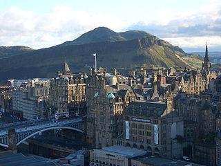 Vieille ville et Nouvelle ville d'Edimbourg