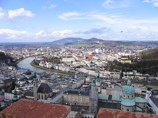 Centre historique de la ville de Salzbourg