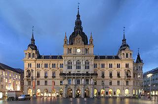 Ville de Graz : Centre historique