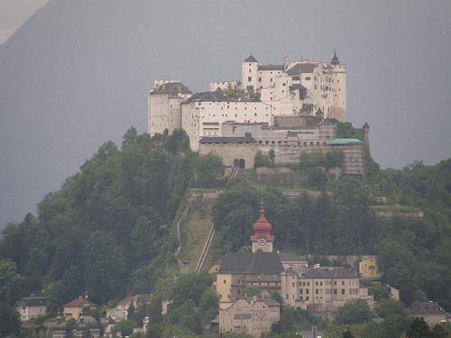 Forteresse de Hohensalzburg Salzbourg