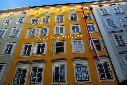 Maison natale de Mozart Salzbourg