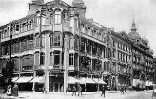 Habitations majeures de l'architecte Victor Horta