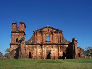 Ruines de Sao Miguel das Missoes