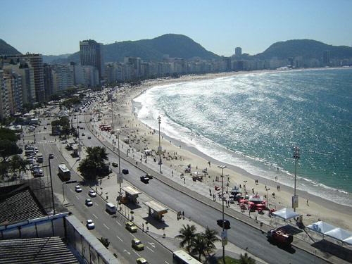 Plage de Copacabana Rio