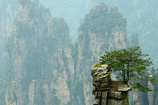 Région d'intérêt panoramique et historique de Wulingyuan