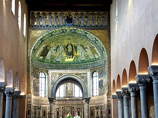 Ensemble épiscopal de la basilique euphrasienne dans le centre historique de Porec