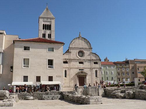 Cathédrale Sainte-Anastasie Zadar