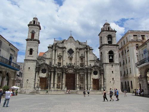 Place de la Cathédrale La Havane