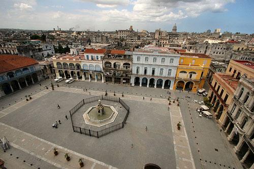 Plaza de Armas La Havane