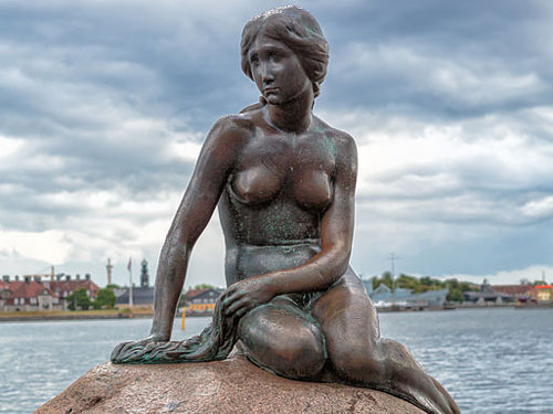 Statue de la Petite Sirène Copenhague