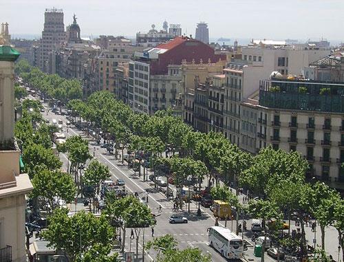 Passeig de Gràcia Barcelone