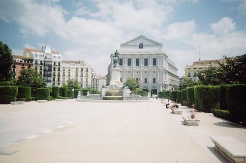 Place de l Orient Madrid