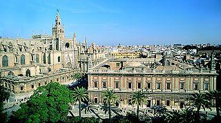 La Cathédrale, l'Alcazar et l'Archivo de Indias de Séville