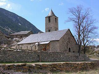 Eglises romanes catalanes de la Vall de Boi