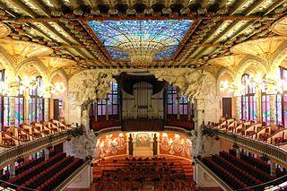 Palais de la musique catalane et hôpital de Sant Pau, Barcelone