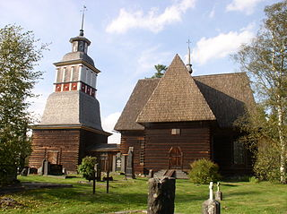 Vieille église de Petajavesi