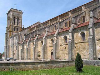 Basilique et colline de Vézelay