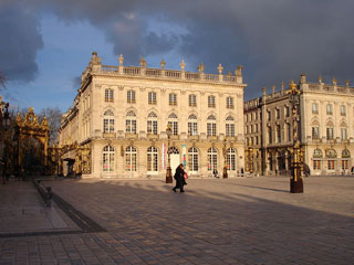 Places Stanislas, de la Carrière et d'Alliance à Nancy