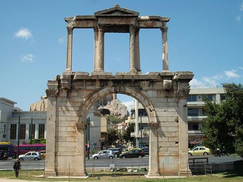 Porte Hadrien