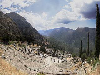 Site archéologique de Delphes