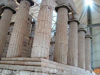 VTemple d'Apollon Epikourios à Bassae