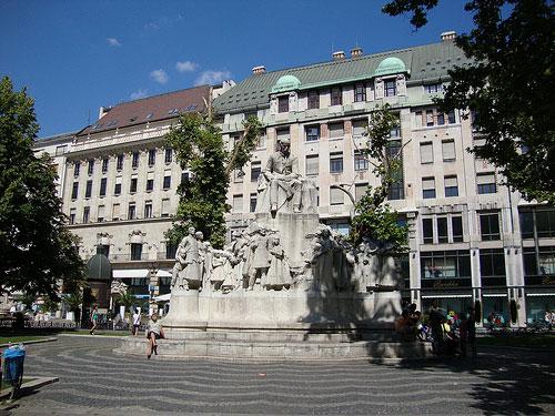 Place Vörösmarty Budapest