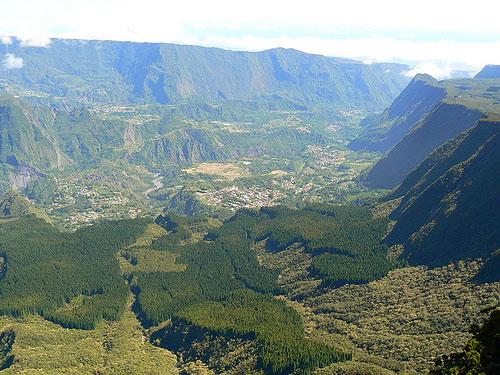 Cirques de la Réunion
