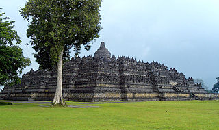 Ensemble de Borobudur