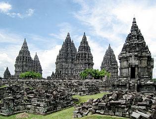 Ensemble de Prambanan
