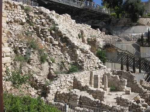 Cité de David Jérusalem
