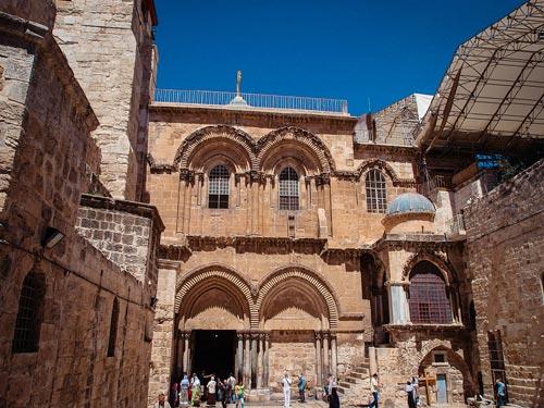 Eglise du Saint-Sépulcre Jérusalem