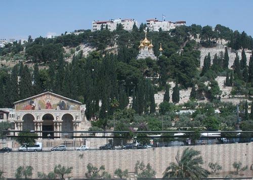 Mont des Oliviers Jérusalem
