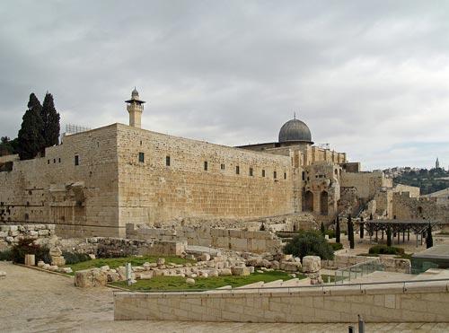 Mosquée al-Aqsa Jérusalem