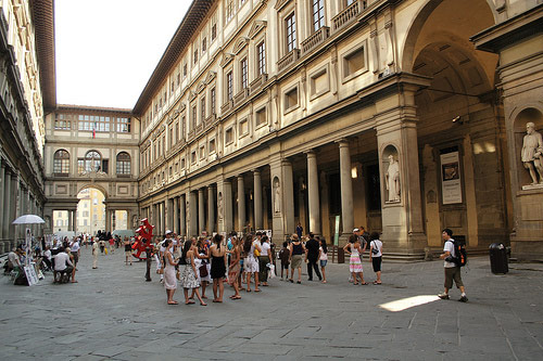 La galerie des offices florence - Musee des offices florence reservation ...