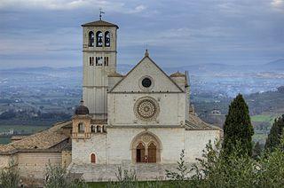 Assise, la Basilique de San Francesco