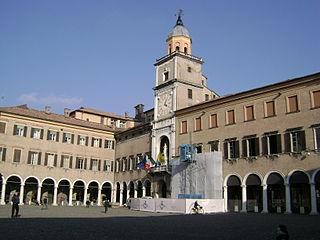 Cathédrale, Torre Civica et Piazza Grande à Modène