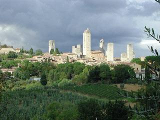 Centre historique de San Gimignano
