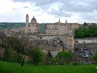 Centre historique d'Urbino