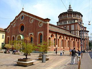 L'église et le couvent dominicain de Santa Maria delle Grazie