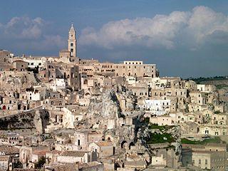 Les Sassi et le parc des églises rupestres de Matera