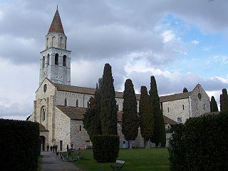 Zone archéologique et la basilique patriarcale d'Aquilée