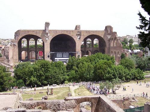 Basilique de Maxence et Constantin Rome