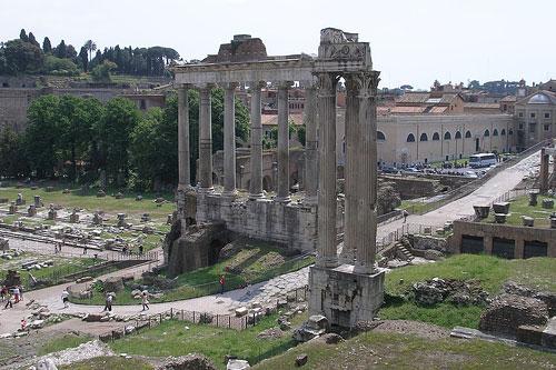 Temple de Saturne Rome