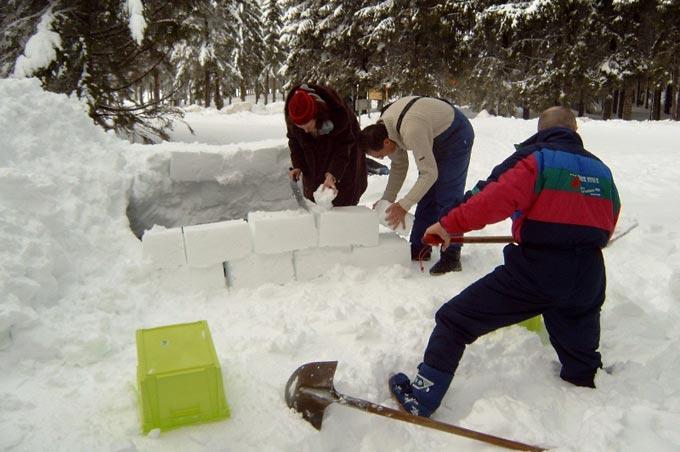 Challenge igloo Auvergne