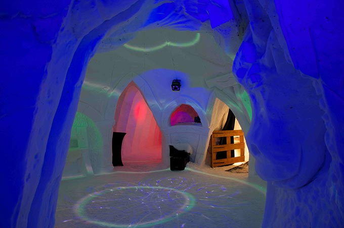 Igloo challenge inter-neige